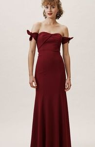 Anthropologie BHLDN Delilah Dress Size 10